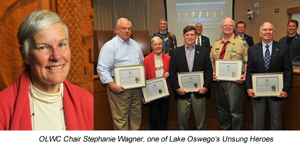 Stephanie Wagner and the 2015 Unsung Heros